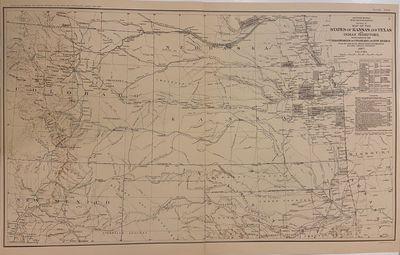 New York: Julius Bien & Co.; US War Department, 1867. Map. Color lithograph. Image measures 16 1/2