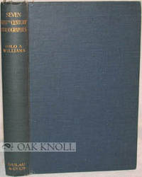 London: Dulau, 1924. cloth. 8vo. cloth. 244 pages. First edition. Seven authors are John Armstrong, ...