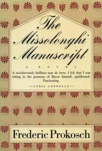 The Missolonghi Manuscript.