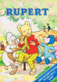 image of Rupert Annual 1990, 70th anniversary edition, with a Poster Dust Jacket