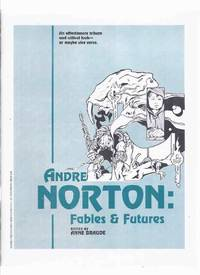 ANDRE NORTON:  Fables and Futures / NIEKAS Science Fiction ( SF )  (inc.  The Weaving of The Witch World; Wondrous Worlds; Series and Sequels, the Problem Thereof; The Haunted Library; etc)