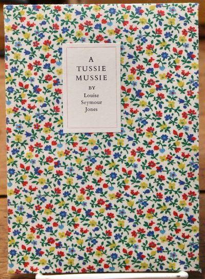 Pasadena: Vance Gerry: The Weather Bird Press, 1976 Floral cloth over stiff card wrappers. With prin...