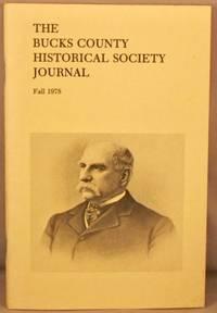 image of Bucks County Historical Society Journal, Fall 1978.