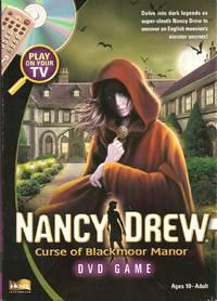 Nancy Drew Curse of Blackmoor Manor DVD Game