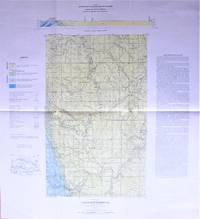 Fold-Out Geological Survey Map in Colour. Map 548a Fallentimber (East Half) West of Fifth Meridian Alberta
