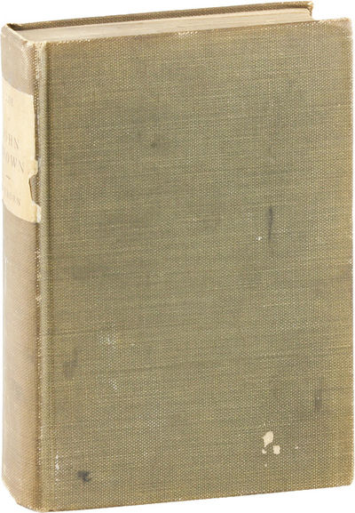 Boston: Roberts Brothers, 1891. Second Edition. Octavo (20cm); sage green cloth, with printed title ...