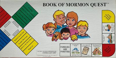 Ogden, UT: Horizon Marketing, Inc, 1993. White box printed in color with an illustration of a family...