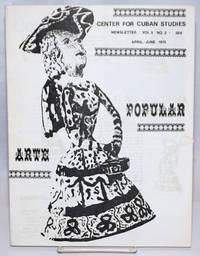 Center for Cuban Studies Newsletter: vol. 2, no. 2, April-June 1975: Arte Popular