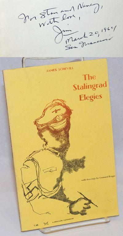 Denver: Alan Swallow, 1964. Paperback. 53p., author's postscript, illustrations, personal inscriptio...