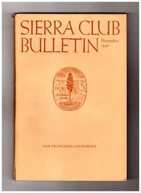Sierra Club Bulletin - December, 1946. Vittorio Sella photographs