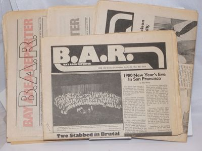 San Francisco: Benro Enterprises, 1980. Newspaper. First four issues of volume 11, various paginatio...