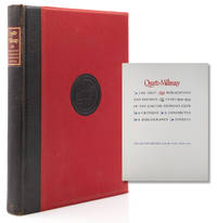 Quarto-Millenary. The First 250 Publications and the First 25 Years 1929-1954 of the Limited editions Club. A Critique, a Conspectus, a Bibliography, Indexes
