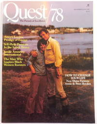 image of Quest/78 Magazine: The Pursuit of Excellence. January/February 1979. Vol. 2. No. 7