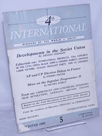 image of 4th International [1959, Summer, No. 5] Workers of the World Unite