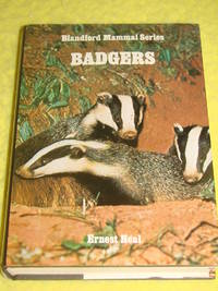 Badgers, Blandford Mammal Series