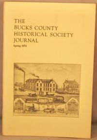 image of Bucks County Historical Society Journal, Spring 1974.