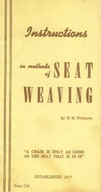 Instructions in Methods of Seat Weaving