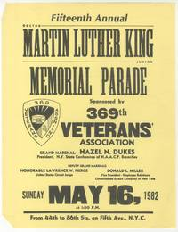 [Broadside]: Fifteenth Annual Doctor Martin Luther King Junior Memorial Parade