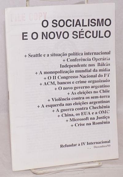 Sao Paulo: Osvaldo Coggiola, 1999. 47p., staplebound pamphlet, text in Portuguese. Stamped