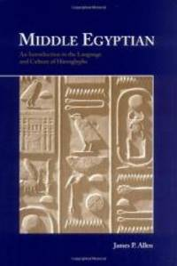 Middle Egyptian: An Introduction to the Language and Culture of Hieroglyphs by James P. Allen - 1999-11-28