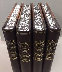 TALMUD YERUSHALMI CODEX LEIDEN. MS SCALIGER 3.  Complete in 4 VOLUMES. A LIMITED FACSIMILE EDITION OF THE MANUSCRIPT .