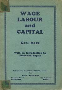 image of Wage-labour and capital.