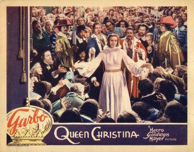 QUEEN CHRISTINA (1933) Lobby card