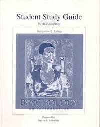 Student Study Guide to Accompany Psychology An Introduction