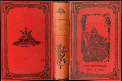 Paris & Mexico: Ch. Bouret, 1883. Later Edition. Hardcover (Quarter Leather). Very Good. Original de...
