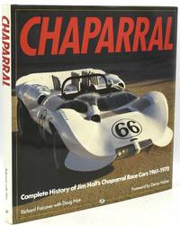 [RACE CARS] CHAPARRAL: COMPLETE HISTORY OF JIM HALL'S CHAPARRAL RACE CARS 1961-1970