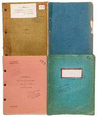 The Studio's Own Copies of Four Successive Scripts for King Kong, with the three-part script for Creation, the unfinished film that directly influenced its production
