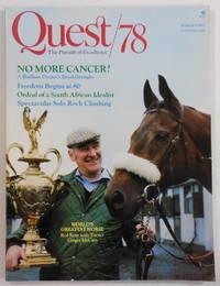 image of Quest/78 Magazine: The Pursuit of Excellence. March/April 1978. Vol. 2. No. 2