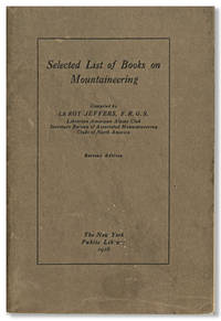 SELECTED LIST OF BOOKS ON MOUNTAINEERING