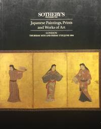 Japanese Paintings, Prints and Works of Art, Sotheby's London, June 1994 by  Sotheby's London - Paperback - 1994 - from Jorge Welsh Books and