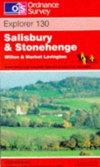 image of Salisbury and Stonehenge (Explorer Maps)