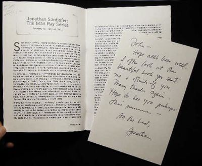 Montclair, New Jersey: Montclair Art Museum, 2003. 19 pages; with a autograph note signed from the a...