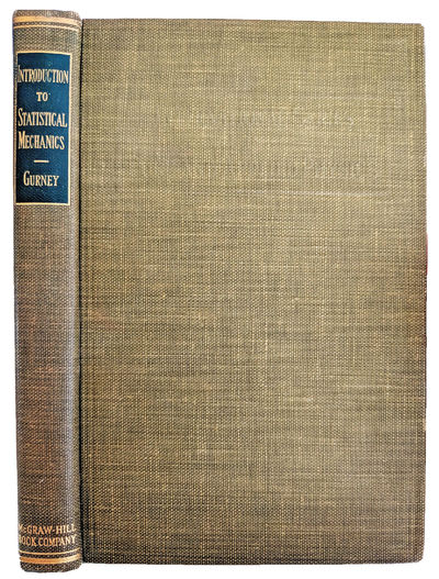 New York:: McGraw-Hill, 1949., 1949. Series: International Series in Pure and Applied Physics. 8vo. ...