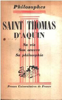 image of Saint thomas d'aquin sa vie   son oeuvre   sa philosophie
