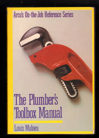 image of Plumber's Toolbox Manual (ARCO'S ON-THE-JOB REFERENCE SERIES)