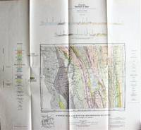 Fold-Out Geological Survey Map in Colour. Upper Elk and Upper Highwood Rivers, British Columbia and Alberta
