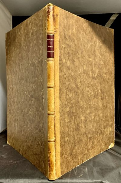 London: Published by the author, 1827. First edition. Quarter tan calf and marbled boards. Very good...