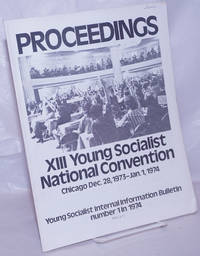 image of Proceedings: XIII Young Socialist National Convention