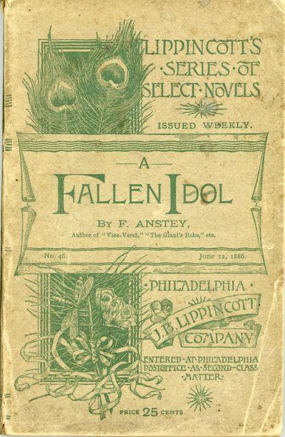New York: J. B. Lippincott Company, 1886. Octavo, pp. 2-334 , original decorated light green wrapper...