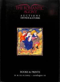 Sale 21-22 Septembre 2003, Catalogue 22: Auctions Devroes & Stubbe.