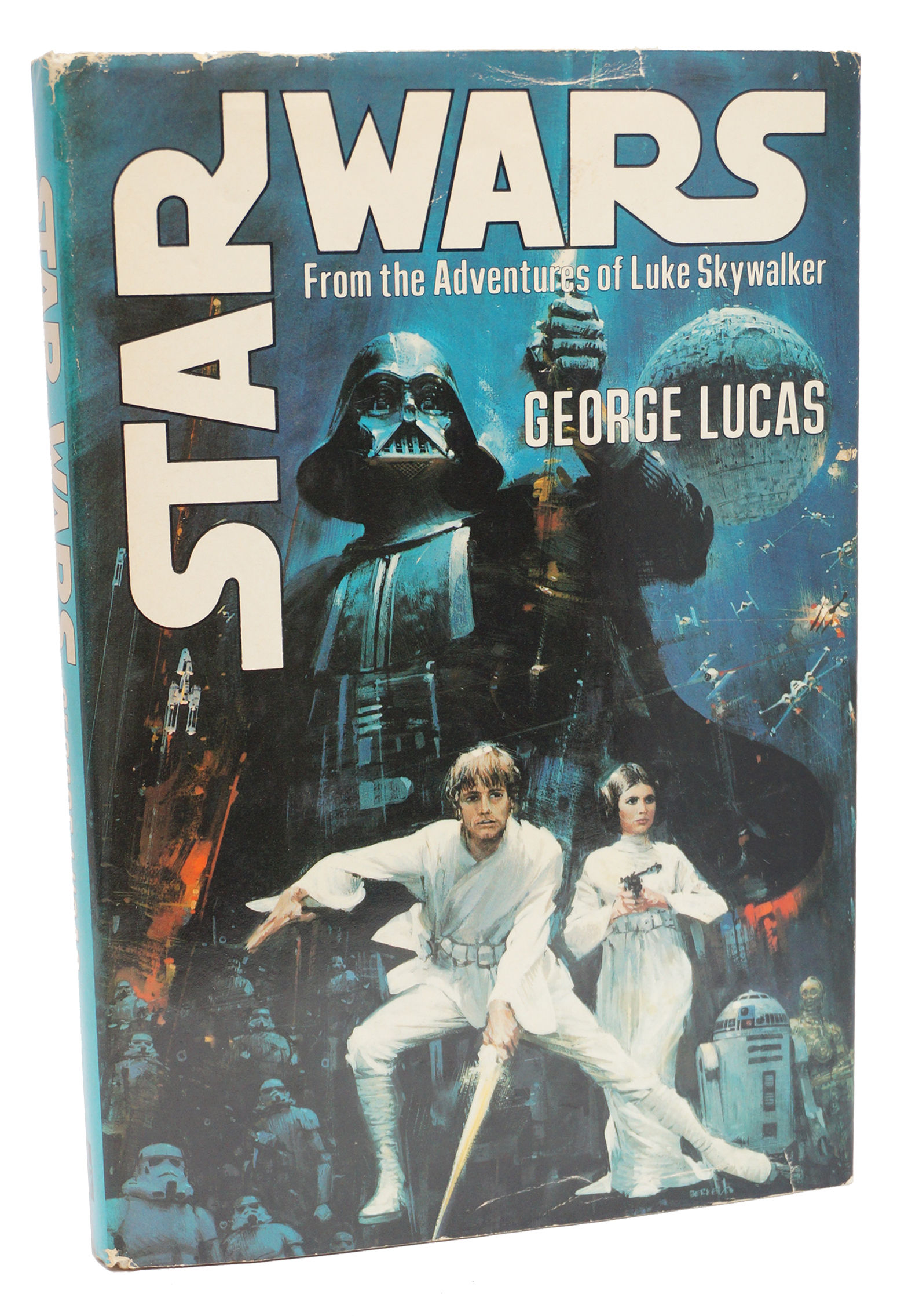 a literary analysis of the novel star wars a new hope by george lucas Star wars reviews: what critics thought of the 1977 film when it was first released this is the writer-director george lucas's own film star wars, (aka star wars: episode iv - a new hope), chewbacca.