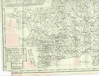 """Province XIII  Quang-Si,  Drawn on the Spot by the Peres de Tartre & Cordoso in the Year 1714... From """"A Description of the Empire of China and Chinese-Tartary,..."""""""