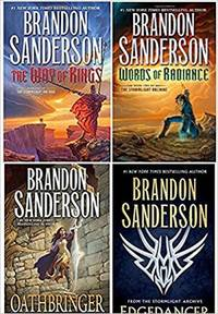 The Stormlight Archive by Brandon Sanderson  BOOK COLLECTION SET - BRAND NEW