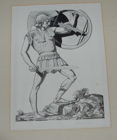 np, nd, 1936. Rockwell Kent. Each image is 9-1/2 x 7 inches, in an 18 x 15 inch matte. Each image is...