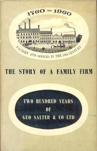 Salter. The Story of a Family Firm 1760-1960