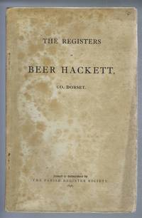 The Registers of Beer Hackett, Dorset from 1549 to 1812